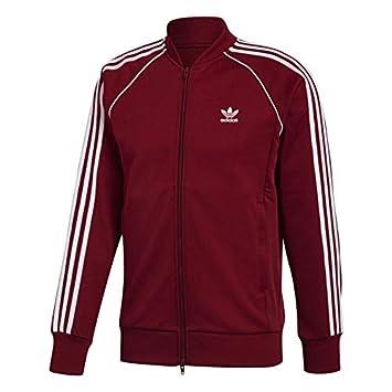 Adidas SST TT - Chaqueta, Hombre, Rojo(Buruni): Amazon.es: Deportes y aire libre