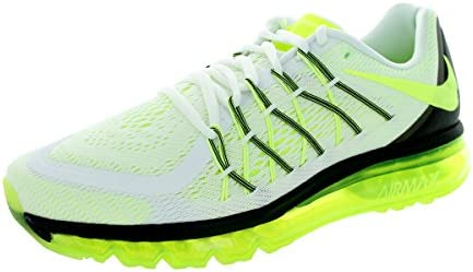 info for 4e598 7c54d Nike Air Max 2015 Men s White Synthetic Running Shoes-698902-107-Size-8 UK   Buy Online at Low Prices in India - Amazon.in