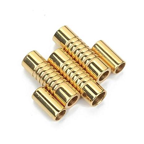 5 conectores magnéticos de acero inoxidable para pulseras de ...