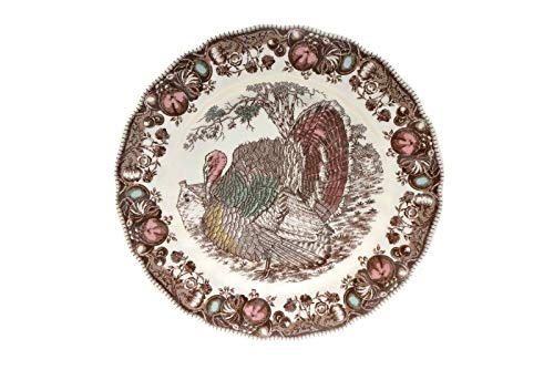 Johnson Brothers His Majesty Turkey Dinner Plate 10 1/8