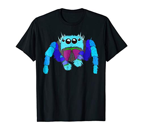 Jumping Spider Tshirt, Cool Spider Face tee