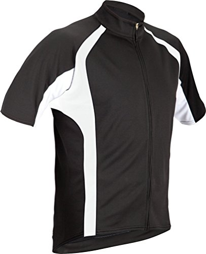 Cannondale Men's Classic Cycling Jersey, Black, Medium
