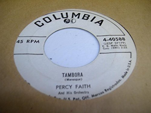PERCY FAITH 45 RPM Tambora / The Rose Tatoo]()