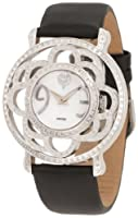 Brillier Women's 04-41421-01 Papillon Swiss-Quartz Mother-Of-Pearl Watch from Brillier