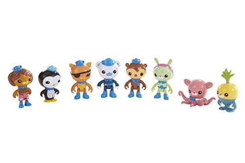 Fisher-Price Octonauts Octo-Crew 8 Figure Pack -