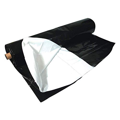 A&A Panda Black & White Poly Film - Light deprevation Greenhouse Cover 100% Blackout (32 ft x 50 ft) by A&A (Image #4)
