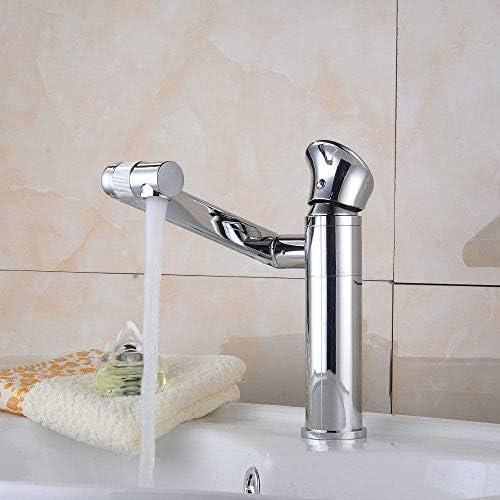 CLJ-LJ バスルームのシンクは、ホットスロット付き浴室の洗面台のシンクホットコールドタップ亜鉛メッキ流域の蛇口ヨーロッパスタイルのバスルームをタップし、冷たい水の蛇口の下でカウンター洗面回転蛇口洗面の蛇口