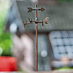 Miniature Fairy Garden Weather Vane Pick