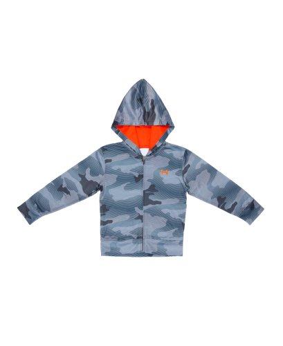 Under Armour Kids AO Future Camo Hoodie (2T-7) Steel, 5 - Futures Sweatshirt