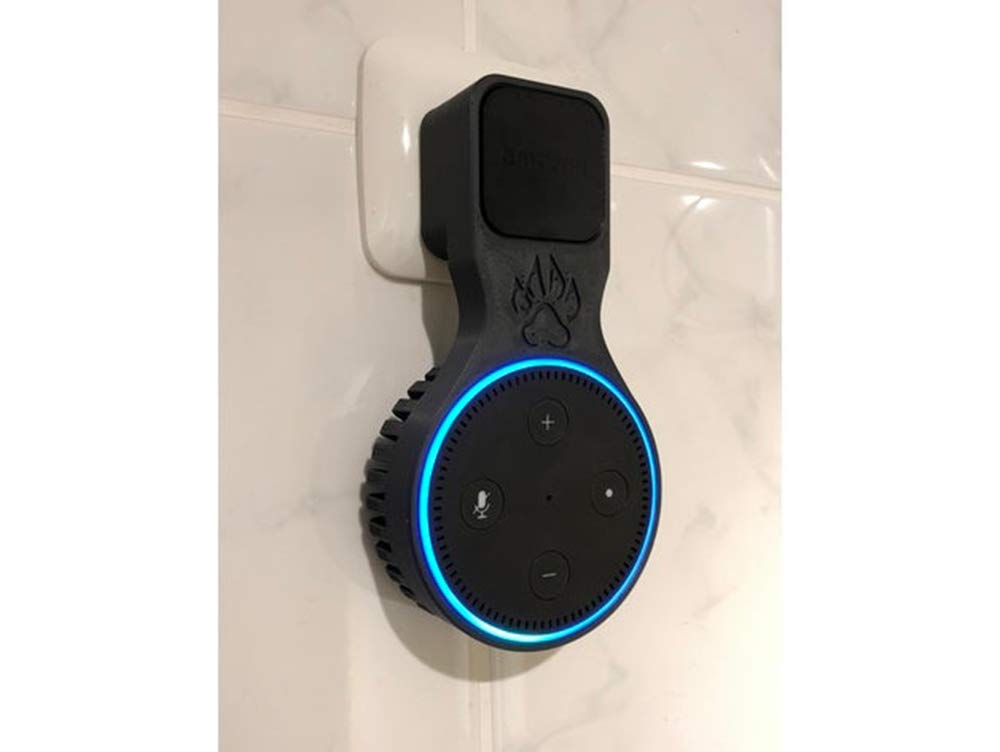 Echo Dot Gen 2 Wall Socket Electrical Plug Mount Attachment Safe Secure