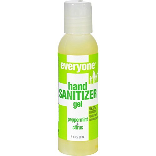 - EO Products Hand Sanitizer Gel - Everyone - Peppermint- 2 oz(Pack of 6) - Made with natural ingredients and pure essential oils