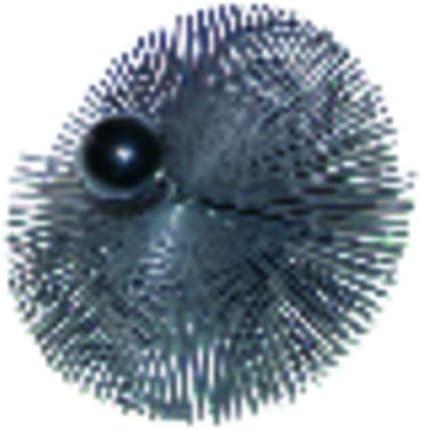 Desholinador Acero templado con 2 anilos /Ø 350 CEPILLOS Expert by net