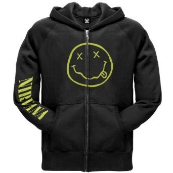 Zip Hoodie: Nirvana - Smile Size M