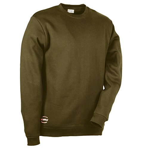 Cofra Sweatshirt mit dehnbarem Gewebe Agadir V109 robuster Pullover, M, braun, 40-00V10903-M