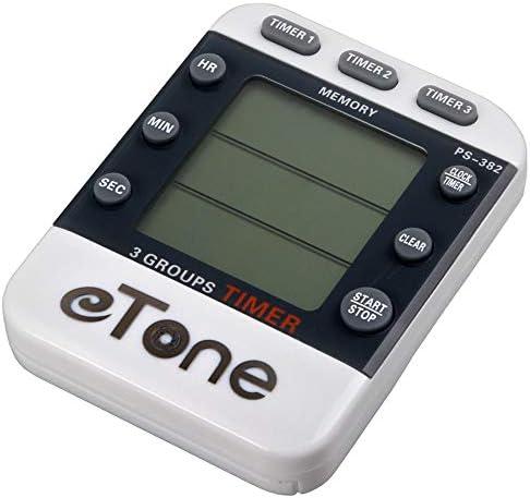 eTone 3 Channel Timer Counter Darkroom Developing Countdown Clock Processing Equipment Film Camera Accessories