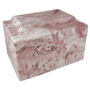 Wild rose cl sico urna de m rmol cultivadas por mackenzie for Color marmol rosa