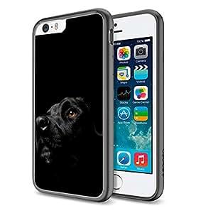 Black Lab Dog - Apple iPhone 6 Plus Black Cover Case