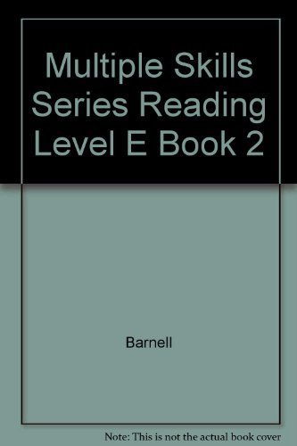 Multiple Skills Series Reading Level E Book 2