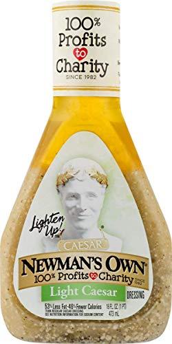 Newman's Own Light Caesar Dressing Salad Dressing, 16-oz.