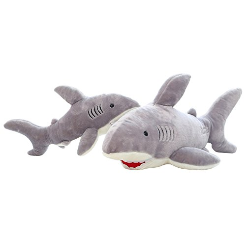 Giant Shark Stuffed Animal Long Great White Stuffed Animal Plush