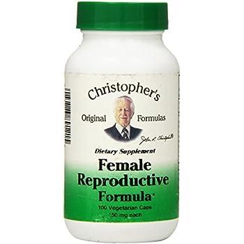 Dr Christophers Formula Female Reproductive Formula, 100 Count