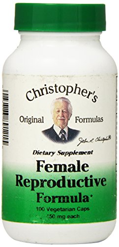 Dr Christopher's Formula Female Reproductive Formula, 100 Count (Dr Christophers Formulas)