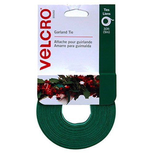 VELCRO Brand - Holiday Garland Ties - 30' x 1/2