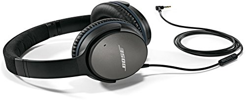 Bose QuietComfort 25 Acoustic Noise Cancelling Headphones for Samsung and Android devices, Black (wired, 3.5mm) (Over Ear Headphones Bose)