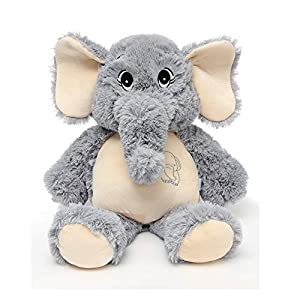 MorisMos Elephant Stuffed Animals Grey Elephant Plush Toys for Kids,Girlfriend