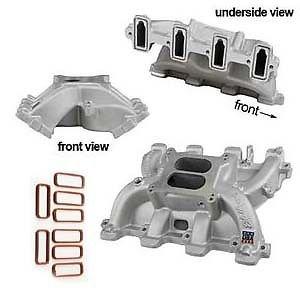 Edelbrock 71187 Carbureted LS1 Intake Manifold w/ Free Felpro Intake Gaskets!