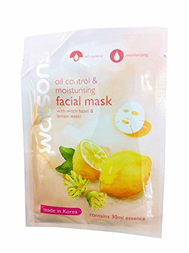 4-mask-sheets-of-watsons-oil-control-moisturising-facial-mask-with-witch-hazel-lemon-water-made-in-k