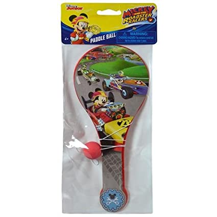 Amazon.com: Disney Mickey Mouse & El Roadster Racers Paddle ...