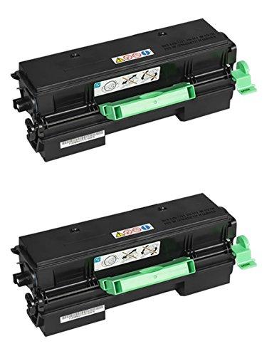 Toner Original RICOH 407319 Print 2-Pack para SP 4510DN SP 4510SF