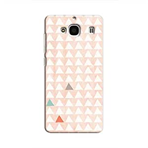 Cover It Up - Odd Hills Pink Redmi 2 Prime Hard Case