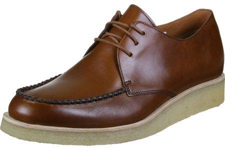 Clarks Burcott Field Scarpa cognac leather