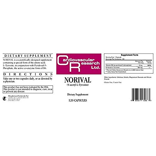 Ecological Formulas Norival 120 Caps New Formulation