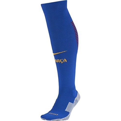 Nike Barcelona Home Stadium Soccer Sock (blu)