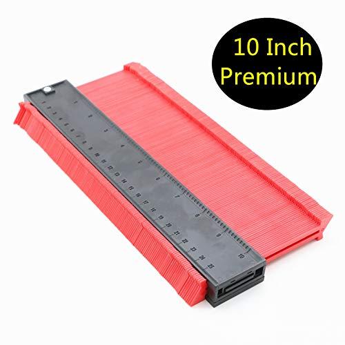 (Inkesky 10 Inch Contour Gauge Duplicator - Extra Measure Depth (Premium - 2-7/16