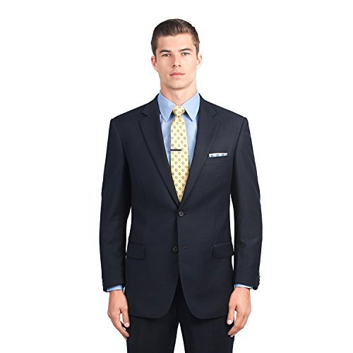 Combatant Gentlemen Mens Navy Blue Modern Fit Suit