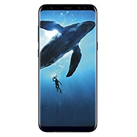 Samsung Galaxy S8 64GB Phone – 5.8in Unlocked Smartphone – Midnight Black (Renewed)