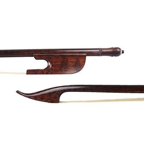 NAOMI Violin Bow High Quality 4/4 Snakewood Baroque Violin Bow Snakewood Frog End New Violin Bow