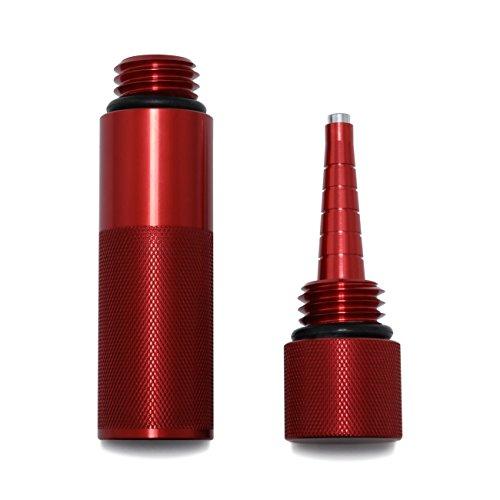 Yoursme Red Mess Free Oil Change Funnel, Magnetic Oil Dipstick for Honda Generator EU1000i EU2000i (Complete Kit F&S, (Coleman Honda Generator)