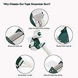 JARLINK Packing Tape Dispenser Gun (2 Pack) with
