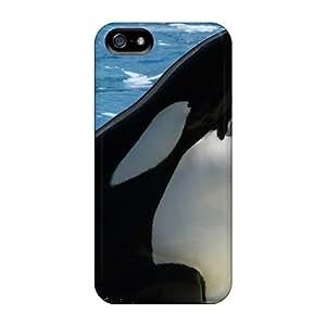 CaroleSignorile EAz1470DMhH Protective Cases For Iphone 5/5s(killer Whale Water)