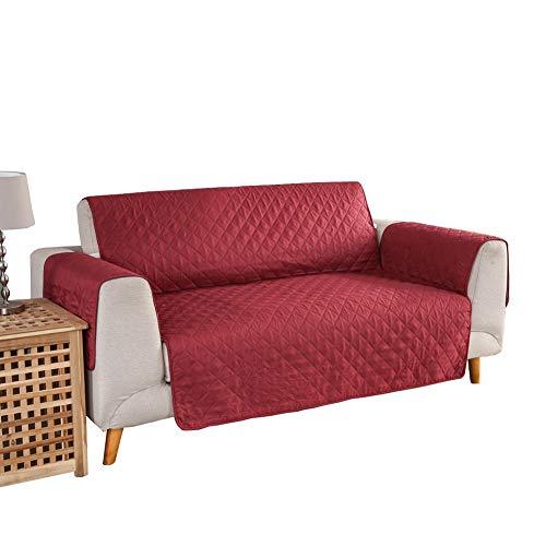 YXDDG Fundas de sofá para Tres sofás de Amortiguador, Mejor sofá Antideslizante Protector con Correas elásticas, Mascota...