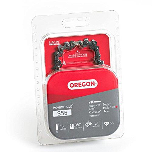 Oregon S56 AdvanceCut 16-Inch Chainsaw Chain Fits Craftsman, Echo, Homelite, Poulan, Remington