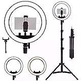 Kit Completo Ring Light Com Tripé Dimmer Youtuber Selfie Pro