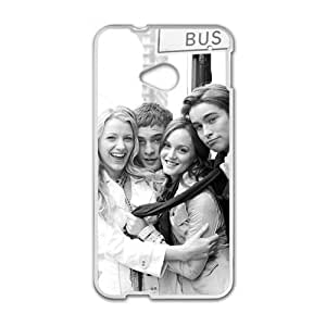 Happy gossip girl blair serena nate and chuck Phone Case for HTC One M7