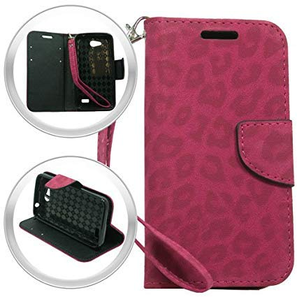 ZTE Lever LTE Z936C Z936L (Straighttalk), LF 4 in 1 Bundle, Zebra Designer Premium PU Leather Flip Wallet Credit Card Cover Case, Stylus Pen, Screen Protector & Wiper Accessory (Wallet Zebra) ()