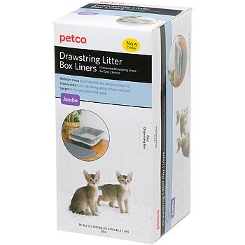 Captivating Petco Unscented Drawstring Litter Box Liners